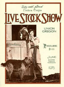 Eastern Oregon Livestock Show program